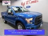 2016 Blue Flame Ford F150 XL Regular Cab #108643584