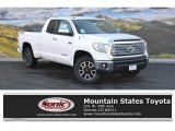 2016 Super White Toyota Tundra Limited CrewMax 4x4 #108643517