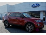 2016 Ruby Red Metallic Tri-Coat Ford Explorer Sport 4WD #108643699