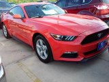 2016 Competition Orange Ford Mustang V6 Coupe #108643627