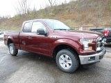 2016 Bronze Fire Ford F150 XLT SuperCab 4x4 #108643669