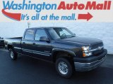 2003 Dark Gray Metallic Chevrolet Silverado 2500HD LS Crew Cab 4x4 #108643657