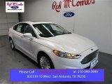 2016 White Platinum Tri-Coat Metallic Ford Fusion Hybrid SE #108643592