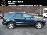 2016 Blue Jeans Metallic Ford Explorer XLT 4WD #108673743