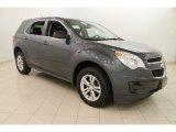 2010 Cyber Gray Metallic Chevrolet Equinox LS #108673878