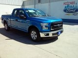 2015 Blue Flame Metallic Ford F150 XL SuperCab #108673659
