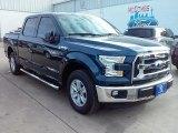 2015 Blue Jeans Metallic Ford F150 XLT SuperCrew #108673658