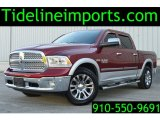 2014 Deep Cherry Red Crystal Pearl Ram 1500 Laramie Crew Cab 4x4 #108673922