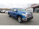2016 Blazing Blue Pearl Toyota Tundra Limited CrewMax 4x4 #108673756