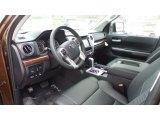 2016 Toyota Tundra Limited CrewMax 4x4 Black Interior