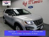 2016 Ingot Silver Metallic Ford Explorer XLT #108703110