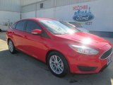 2015 Race Red Ford Focus SE Sedan #108703102