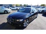 2008 Jet Black BMW 3 Series 335i Convertible #108703250