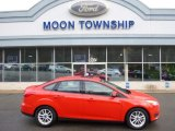 2015 Race Red Ford Focus SE Sedan #108722174