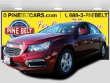 2016 Siren Red Tintcoat Chevrolet Cruze Limited LT #108728418