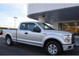 2015 Ingot Silver Metallic Ford F150 XL SuperCab #108728561