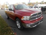 2012 Deep Cherry Red Crystal Pearl Dodge Ram 1500 SLT Quad Cab 4x4 #108728750