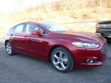 2016 Ruby Red Metallic Ford Fusion SE #108728538
