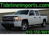 2009 Summit White Chevrolet Silverado 1500 LT Crew Cab 4x4 #108728727