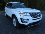 2016 Oxford White Ford Explorer XLT #108728690