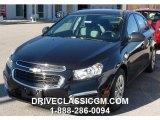 2016 Black Granite Metallic Chevrolet Cruze Limited LS #108755089