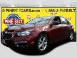 2016 Siren Red Tintcoat Chevrolet Cruze Limited LT #108754675