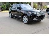 2016 Santorini Black Metallic Land Rover Range Rover Supercharged LWB #108755168
