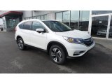 2016 White Diamond Pearl Honda CR-V Touring AWD #108754800