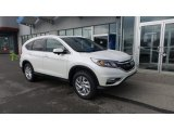 2016 White Diamond Pearl Honda CR-V EX-L AWD #108754798