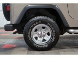 Jeep Wrangler 2003 Wheels and Tires