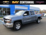 2016 Slate Grey Metallic Chevrolet Silverado 1500 LT Crew Cab 4x4 #108754775