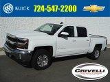 2016 Summit White Chevrolet Silverado 1500 LT Crew Cab 4x4 #108755041