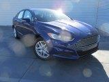 2016 Deep Impact Blue Metallic Ford Fusion SE #108794941
