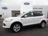 2016 White Platinum Metallic Ford Escape SE 4WD #108795093