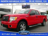 2010 Vermillion Red Ford F150 STX SuperCab #108794667