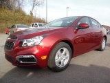 2016 Siren Red Tintcoat Chevrolet Cruze Limited LT #108794907