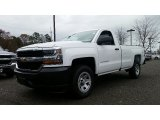 2016 Summit White Chevrolet Silverado 1500 WT Regular Cab 4x4 #108824544