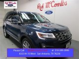 2016 Blue Jeans Metallic Ford Explorer Limited #108824664