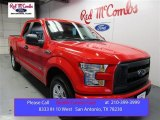 2016 Race Red Ford F150 XL SuperCab #108824661