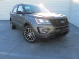 2016 Magnetic Metallic Ford Explorer Sport 4WD #108824863