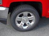 2016 Chevrolet Silverado 1500 LTZ Crew Cab 4x4 Wheel