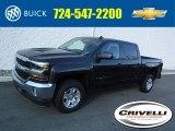 2016 Tungsten Metallic Chevrolet Silverado 1500 LT Crew Cab 4x4 #108824999