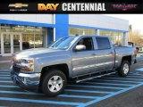 2016 Slate Grey Metallic Chevrolet Silverado 1500 LT Crew Cab 4x4 #108824750