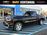 2016 Black Chevrolet Silverado 1500 LT Crew Cab 4x4 #108824748