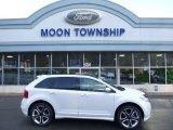 2014 White Platinum Ford Edge Sport AWD #108824826