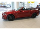 2016 Ruby Red Metallic Ford Mustang GT Premium Convertible #108824393