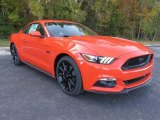 2016 Competition Orange Ford Mustang GT Coupe #108864807