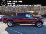 2016 Bronze Fire Ford F150 Lariat SuperCrew 4x4 #108864567