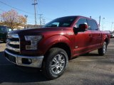 2016 Ford F150 Bronze Fire