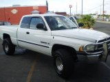 2000 Bright White Dodge Ram 1500 ST Extended Cab 4x4 #10882534